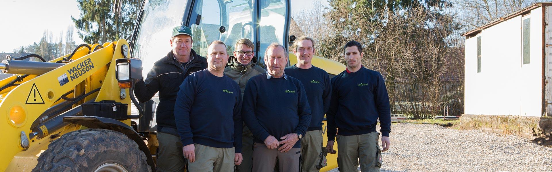 Team von Wieland Garten- und Landschaftsbau