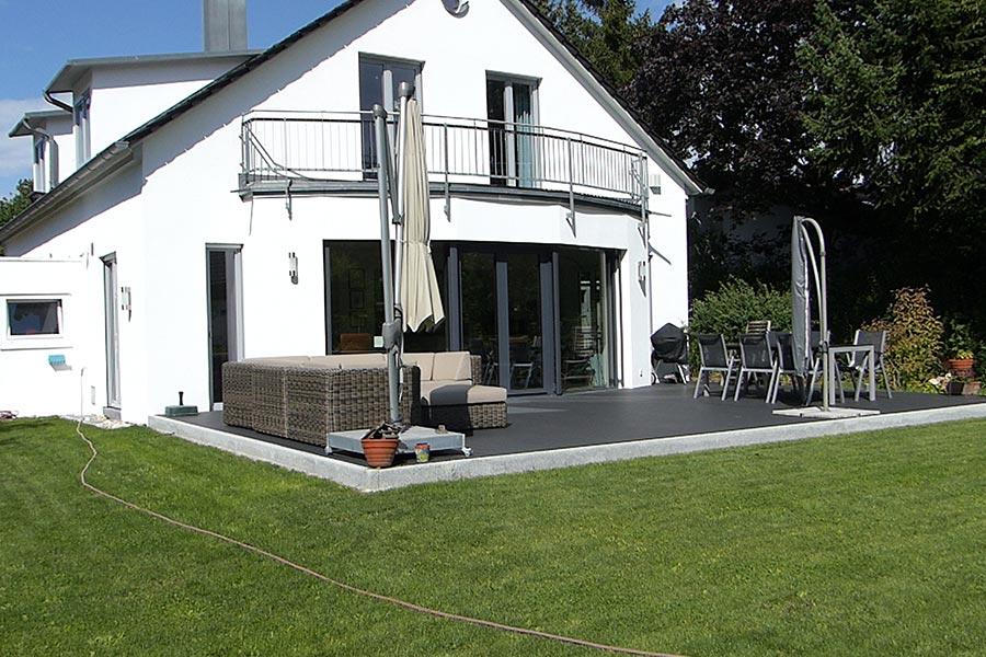 Neu- und Umgestaltung von Gärten von Privatpersonen