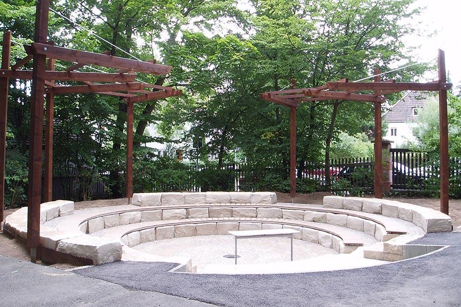 Gestaltung von öffentlichen Plätzen